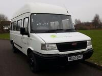 LDV 400 CONVOY TD LWB + 16 SEATER MINIBUS + HIGH ROOF + TWIN WHEELS
