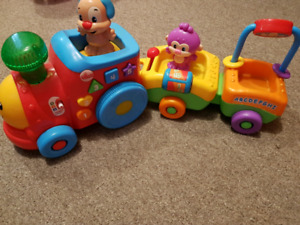 little tikes train toy