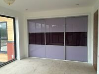 Sliding doors. Mirror/glass/wood/oak. From £85 made to measure. Glasgow/Edinburgh & surrounding
