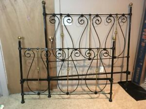 Wrought Iron Antique Bed Frame