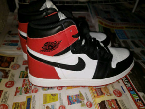 Air Jordan 1 Black Toe sz 8.5