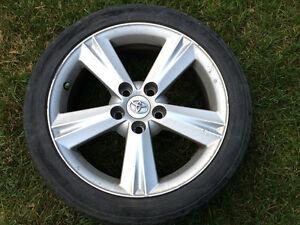Mags et pneus 215/45 ZR17