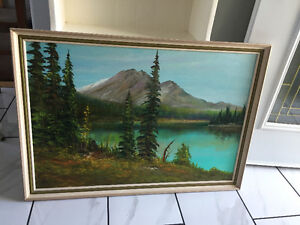 Original Signed Oil on Canvas Painting