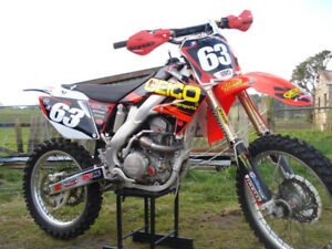 2006 HONDA CRF450R BORED TO 511!