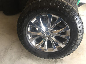 Ford Chrome Rims & Duratrax tires