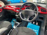 2014 Citroen DS3 1.6 THP DSport Red 3dr Hatchback Petrol Manual