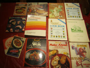 COOKBOOKS ~ Nice Selection for GREAT DEALS!!!!