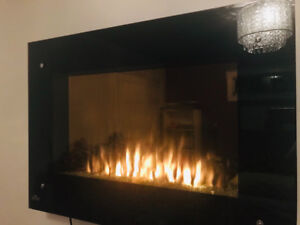 Great Deal! Wall mounted electric fireplace