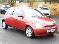 Ford Ka 1.3 2006 Collection, Red, 65 000 Miles, 1 Years Mot