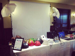 Photo booth  $80/hr starting @ $230 for 2hrs