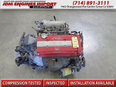 JDM B18C HONDA DC2 TYPE R ENGINE ECU B18C5 ONLY MOTOR ACURA INTEGRA