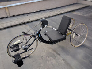 Invacare Top End Excelerator XLT Handcycle with Mountain Drive.