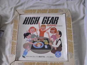 HIGH GEAR GAME 1962