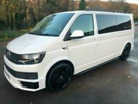 2017 Volkswagen Transporter T6 TDI 9 SEAT SHUTTLE LWB IN CANDY WHITE - EURO SIX