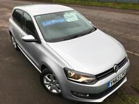VW POLO 1.4 MATCH EDITION £41 WEEK CRUISE PARK SENSORS 22K FSH 5 DR HATCH 2013