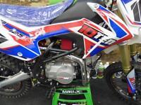 10TEN 125R Big wheel Pit bike mini bike motocross Finance available