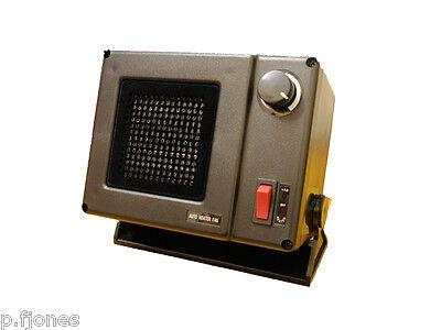 PTC Ceramic In Cab Heater 12V - 300W Auto Heater Fan