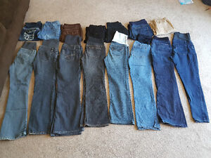 15 Pairs of Maternity Jeans and Pants- medium