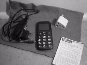Cell Phone Never Used - Large Print & Numbers & SOS Key