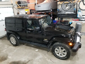 2013 Jeep wrangler Sahara unlimited trade for gmc sierra