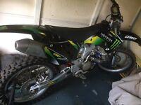 Yamaha yzf250 motocross field bike dirt bike