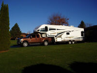2011 Ford F-350 XTR Super Cab Diesel with 5th Wheel Trailer
