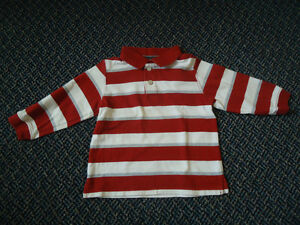 Boys Size 3 Long Sleeve Polo Style T-Shirt by Children's Place