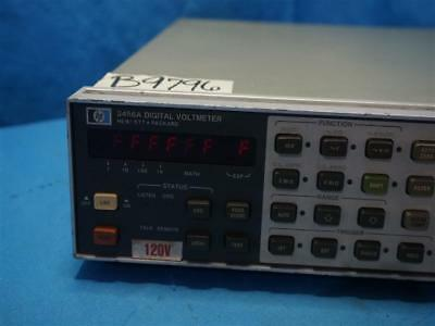 Hp Agilent 3456a Digital Voltmeter As Is