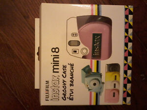 PINK CASE FOR INSTAX MINI 8 CAMERA NEW!