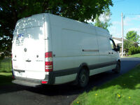 2012 Mercedes-Benz Sprinter EXT Cargo Van with Sleeper