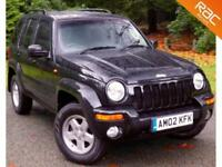 2002 02 JEEP CHEROKEE 3.7 LIMITED 5D AUTO 208 BHP