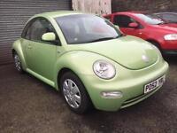 52 reg Volkswagen Beetle 1.6 Lime Green Metallic 2 Door