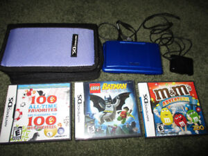 nintendo DS system with games