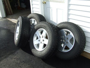 4 New Cooper Snow Tires With Rims