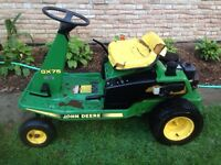 John Deere x75 riding lawn mower.
