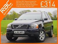 2011 Volvo XC90 2.4 D5 Turbo Diesel 197 BHP Active AWD 4x4 4WD 7-Seater Geartron