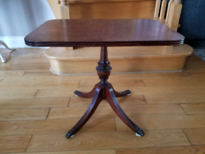 Beautiful Side Claw foot side Table