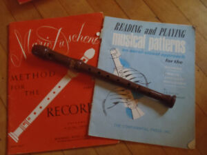 Aulos Alto and Soprano recorders