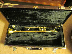 B & S Challenger Trumpet and Case