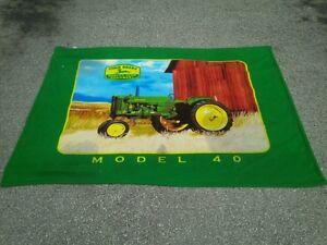 John Deere Collectable Blanket