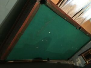 Pool Table/Ping Pong