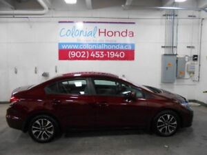 2014 Honda CIVIC EX HEATED FRONT SEATS AND POWER SUNROOF
