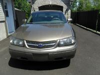 2003 Chevrolet Impala full équipé roule bien le prix est ferme