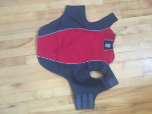 Two RC Dog coats/jackets Size 18, 20, Red, Great Condition!