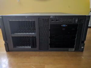 HP ML370 G5 Server w/ Rails