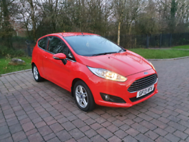 2013 ford fiesta 1.0 zetec - low miles. Free road tax