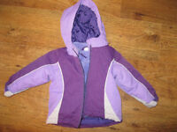 Like New Children s PLace Baby girl 3 in 1 winter jacket