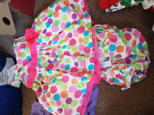 Big lot of 3-6mo baby girl clothes