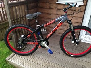 Scott custom mountain bike / jump / freestyle ****