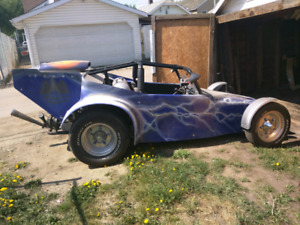 Custom vw dune buggy dragster hot rod show car